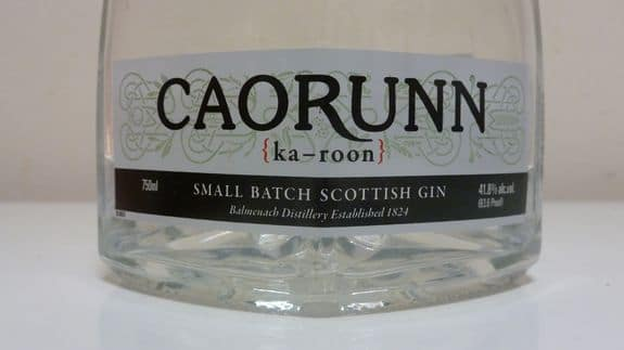 Caorunn Label