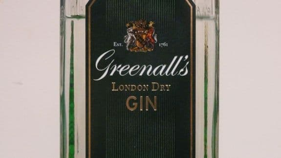 Greenall's London Dry Label