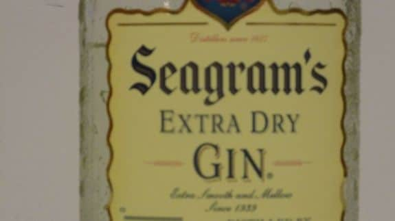 Seagram's Label