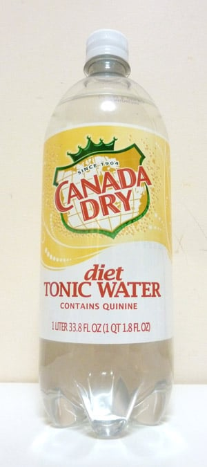 Diet Tonic Water Nutrition 1