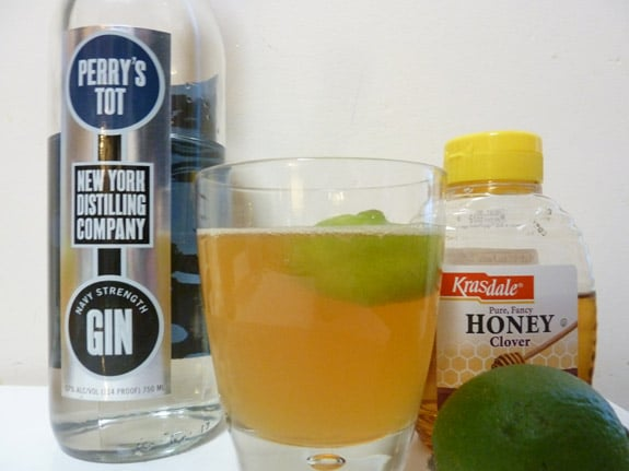 Navy Strength September Frost Cocktail