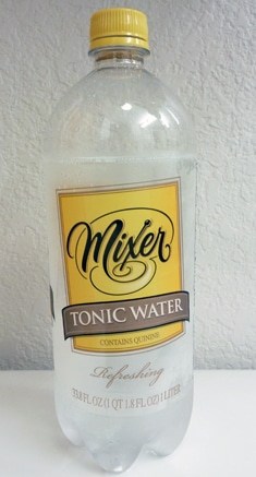 Mixer tonic water