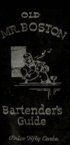 Old Mr Boston Bartender Guide Cover