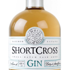 shortcross barrel aged gin