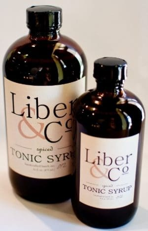 Liber and Co. Syrup official bottle