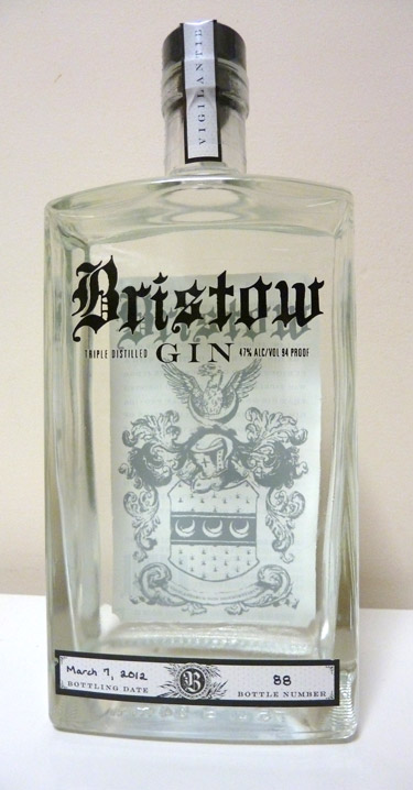 Bristow Gin from Mississippi