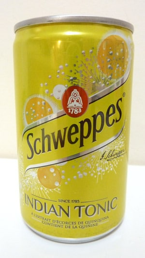 Schweppes Indian Tonic Water France