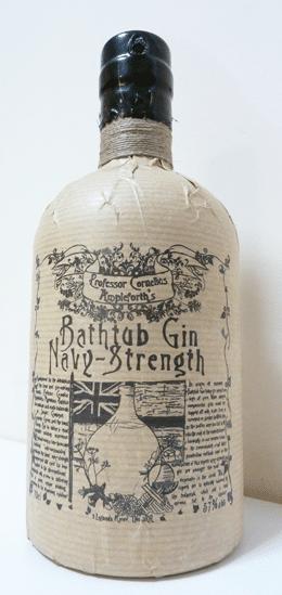 Professor Cornelius Ampleforth's Navy Strength Bathtub Gin