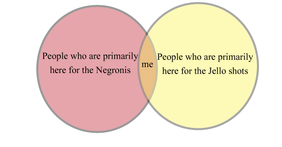 Where I fit into the ven diagram