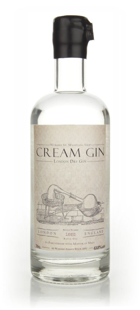 Worship Street Whistling Shop Cream Gin