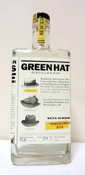 Green Hat Summer Gin