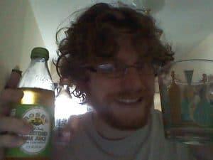 Colorado Fog mini sample and Rose's Lime juice: a gimlet/