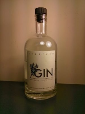 myers farm gin bottle
