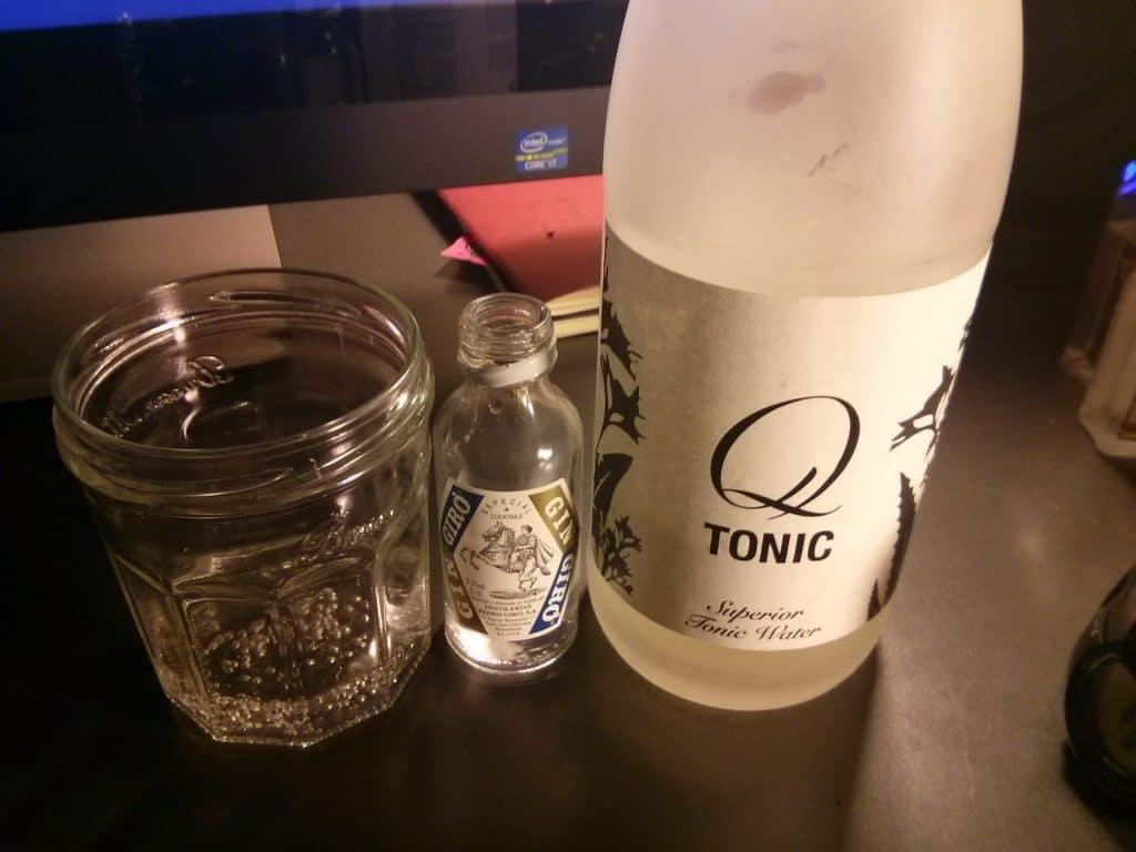 Giro Gin and Q tonic