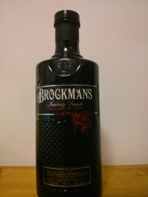 brockman's gin bottle