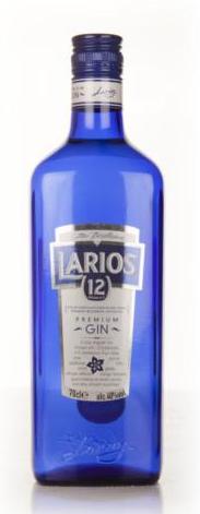 Spain - Larios 12 Botanicals Premium Gin