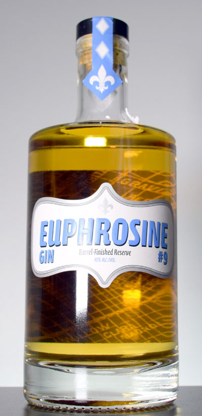 Euphrosine Gin #9 Barrel Finished Reserve