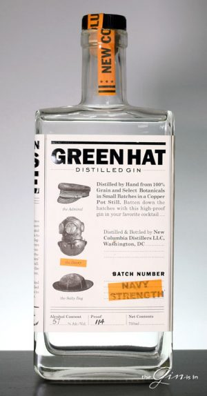 Green Hat Navy Strength