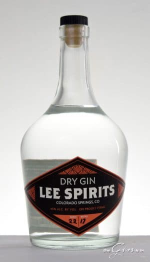 Lee Spirits Co. Dry Gin