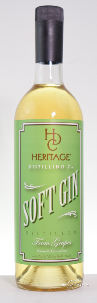 Heritage Distilling Co. Soft Gin Bottle
