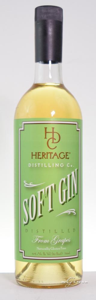 Heritage Distilling Co. Soft Gin Bottle