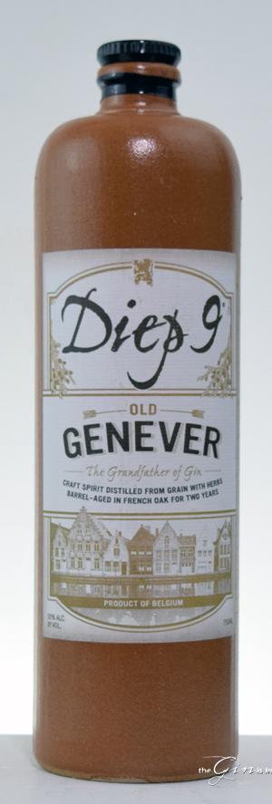 Diep 9 Old Genever Bottle