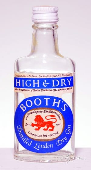 Booth's High and Dry Gin