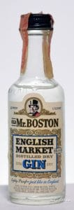 Old Mr. Boston English Market Gin