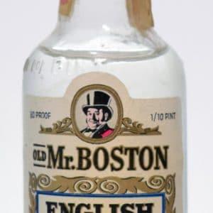 Old Mr. Boston English Market Gin