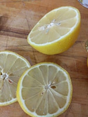 Lemon is one of the most common botanicals in gin