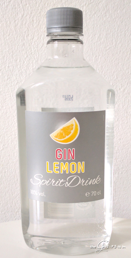 Gin Lemon Spirit Drink