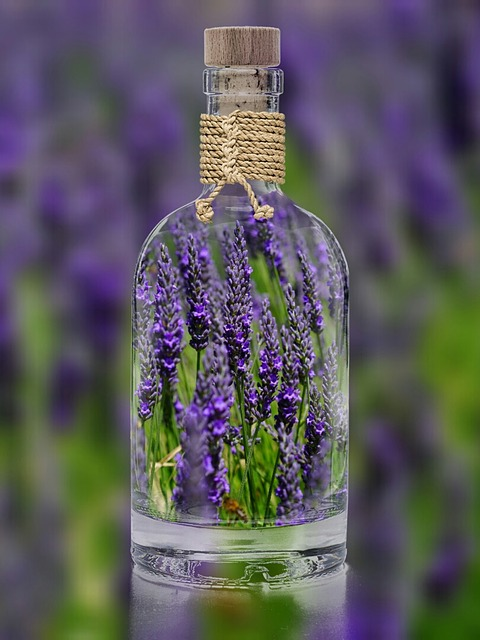 Lavender is a common ingredient in flavored gin