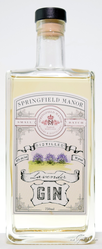 Springfield Manor Lavender Gin