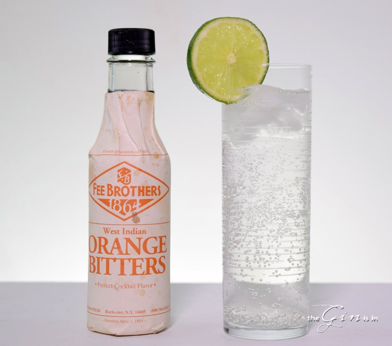 Fee Brothers Orange Bitters and Tonic