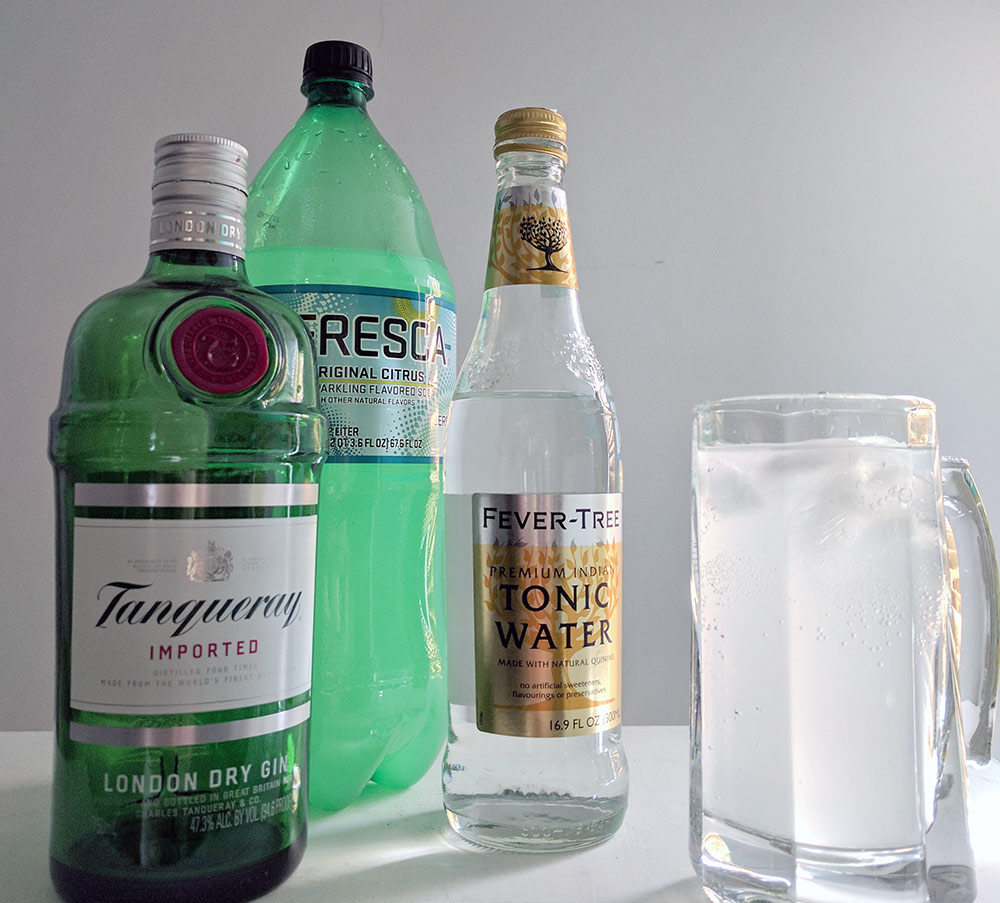 Finnish Long Drink with Fresca
