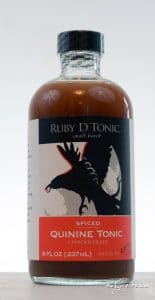 Ruby D Spiced Quinine Tonic