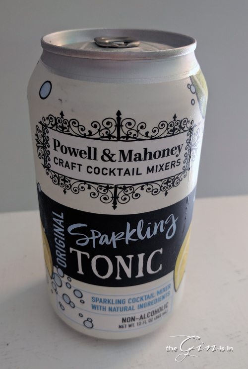 Powell and Mahoney Original Sparkling Tonic