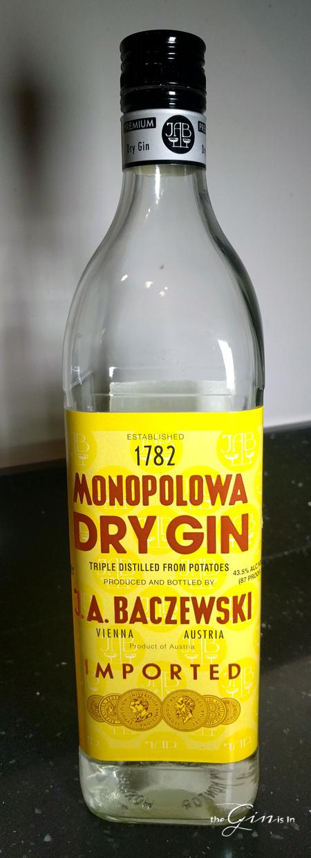 Monopolowa Dry Gin