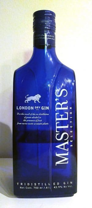Master's London Dry Gin from Destilerías MG