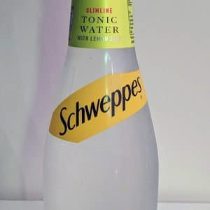Schweppes Slimline Tonic Water with Lemon Zest
