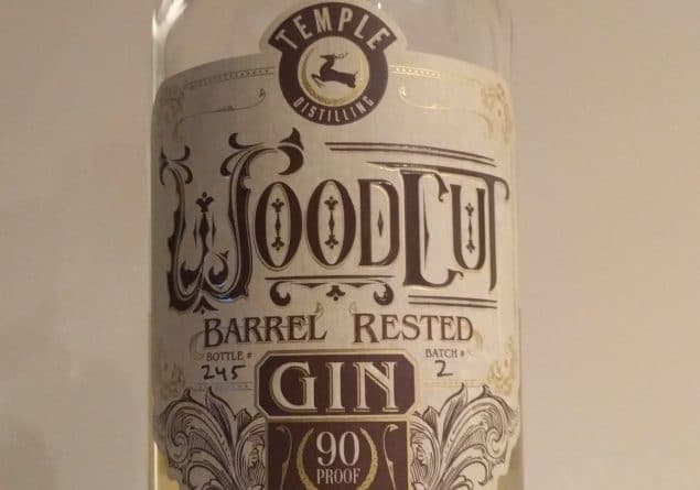 Woodcut Barrel Rested Gin