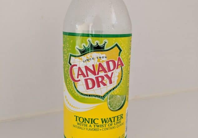 Canada Dry Tonic water with a twist of Lime