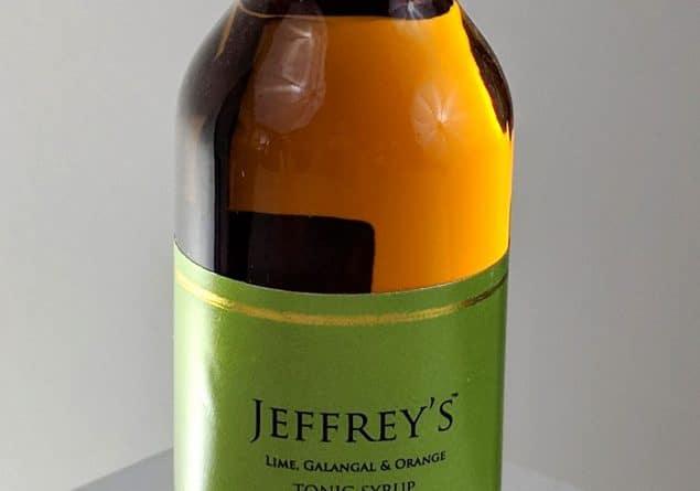 Jeffrey's Lime, Galangal and Orange Tonic Syrup