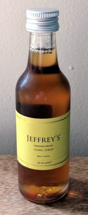 Jeffrey's Tonic Syrup (original recipe)