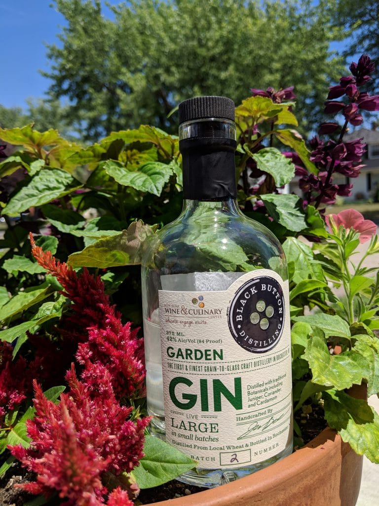 Black Button Distilling Garden Gin