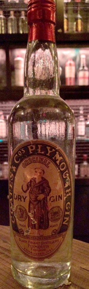 Antique Plymouth Gin 1930s
