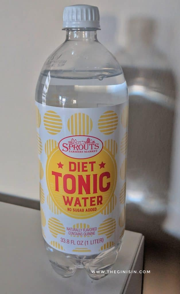 Sprouts Diet tonic water