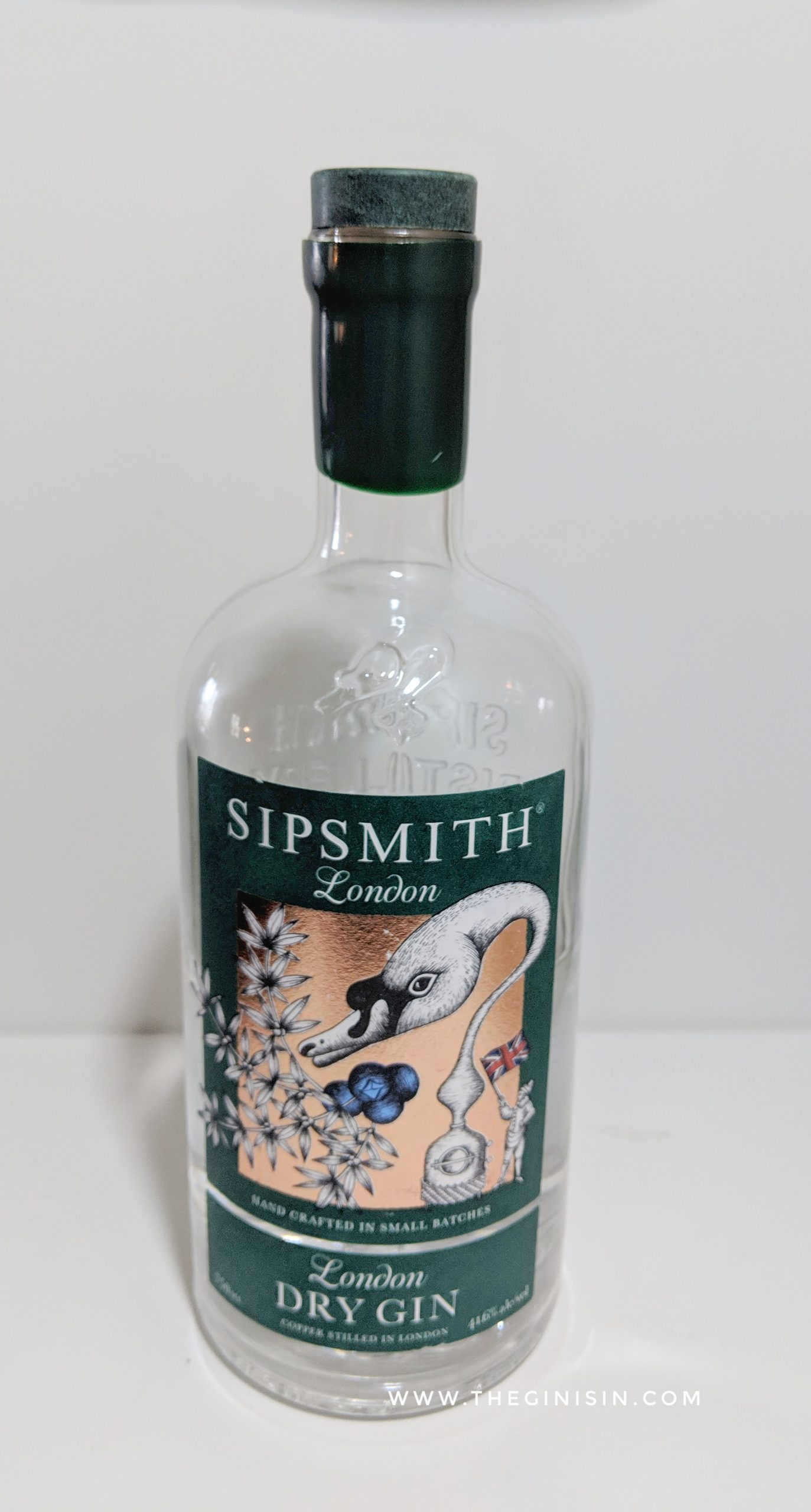 Sipsmith London Dry Gin Review and Rating | the GIN is IN