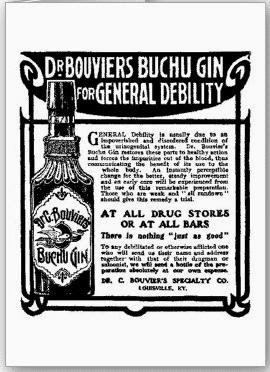 Buchu Gin Ad