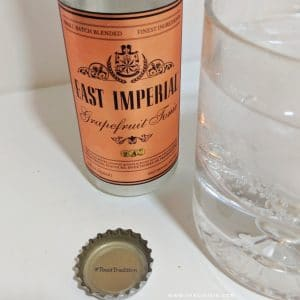 East Imperial Grapefruit Tonic Poured